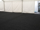 zátěžový koberec do stanu černý