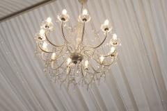 lustr křišťálový, osvětlení, pronájem Štefek