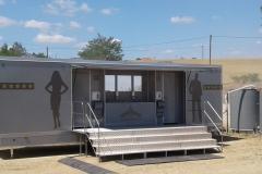 luxusní mobilní splachovací toalety XXL cyklistický závod, pronájem Štefek