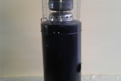 plynový zářič, plynový hřib, pronájem Štefek