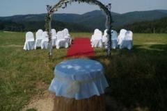 slavobrána, svatba, pronájem Štefek