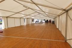 pártystan 30 x 10 m s dřevěnou podlahou, nová 2020, pronájem Štefek