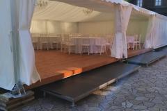 pártystan svatební, textilní výzdoby, zařízení, pronájem Štefek (1)