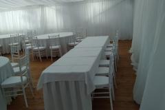 pártystan svatební, textilní výzdoby, zařízení, pronájem Štefek (4)