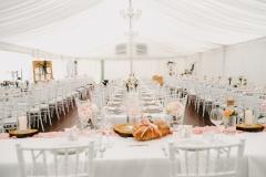 svatební stan, dřevěná podlaha, zařízení, pronájem Štefek (2)